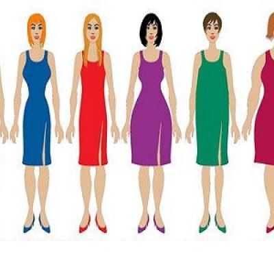 Guarda come le forme femminili perfette sono cambiate nel corso di 100 anni