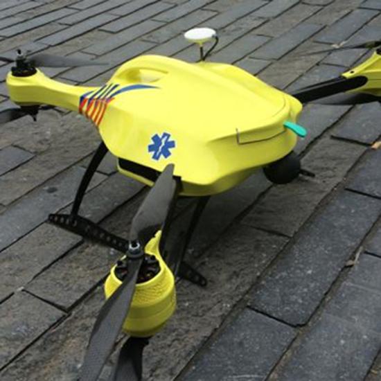 drone ambulanza