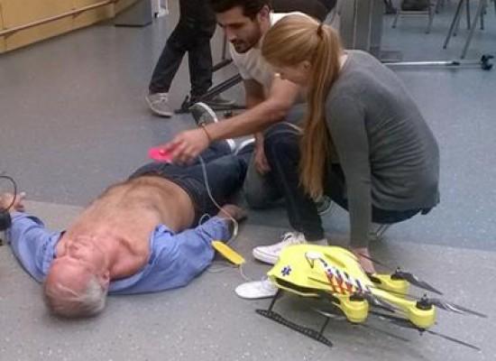 Arriva il drone ambulanza che può salvare numerose vite umane