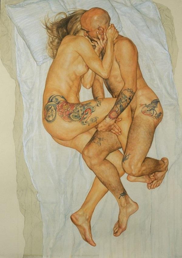 erotici dipinti pittore