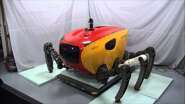 granchio robotico
