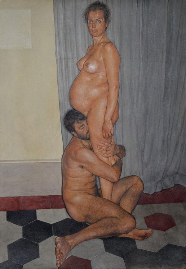 quadri dipinti erotici