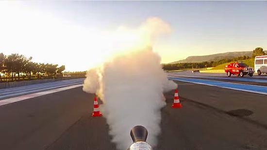 icicletta reazione record velocità