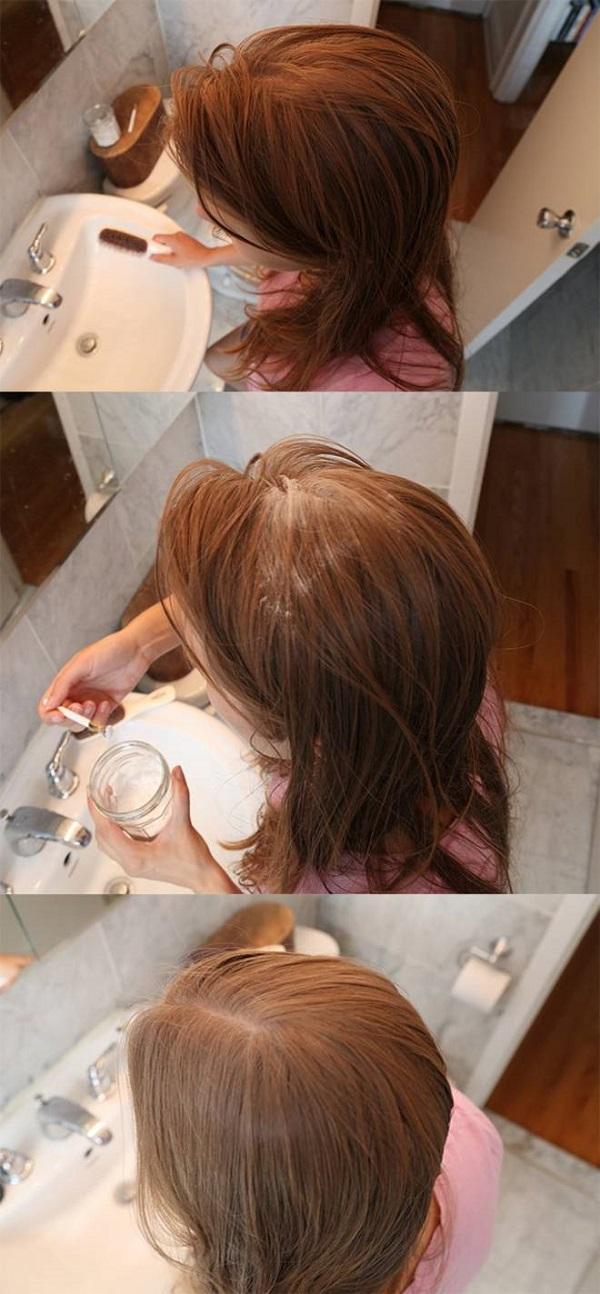 lavare capelli con il bicarbonato