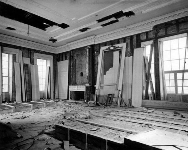 Quando la casa bianca venne completamente distrutta curiosit e perch - Lavori di ristrutturazione casa ...