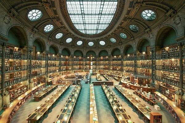 biblioteca nazionale di parigi