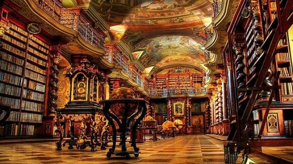 biblioteca nazionale di praga