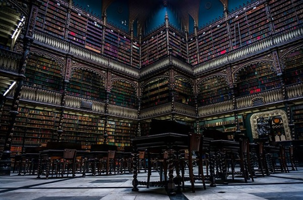 biblioteca di rio de janeiro