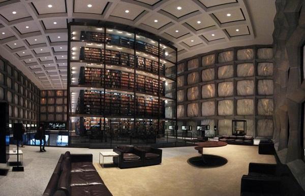 biblioteca beinecke negli stati uniti