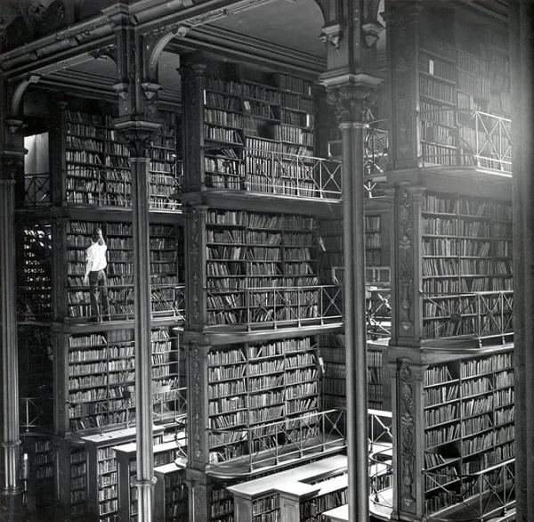 vecchia biblioteca pubblica negli stati uniti