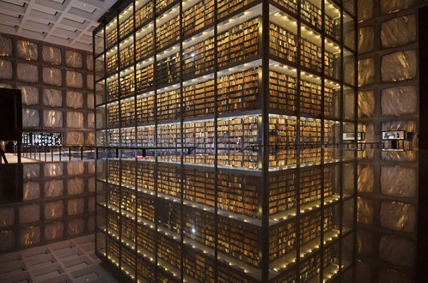 biblioteca beinecke negli usa