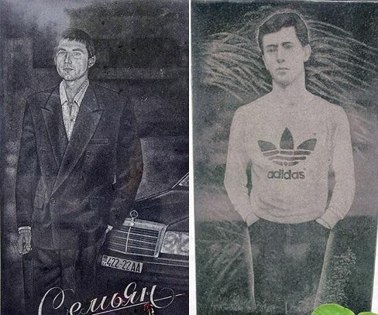 la tomba di un mafioso russo