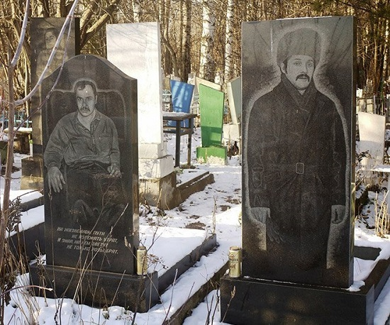 tomba russa di un mafioso