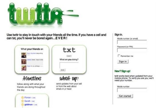 grafica twitter sito originale