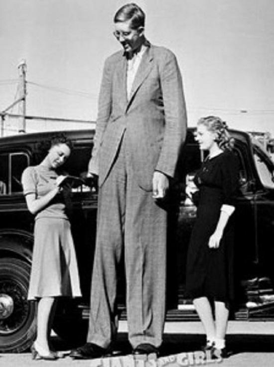 Robert Wadlow uomo piu alto del mondo