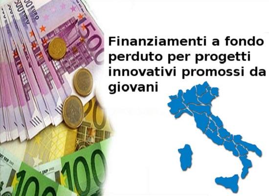 finanziamenti regionali ai giovani