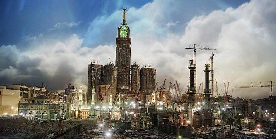 grattacielo hotel tower Abraj Al Bait