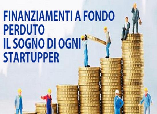 finanziamenti fondo perduto startup