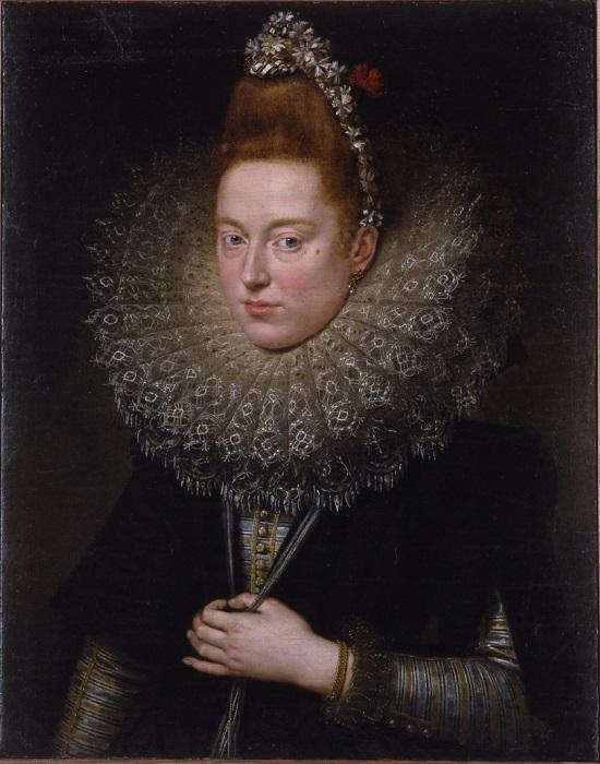 olio su tela Peter Paul Rubens Dama delle licnidi