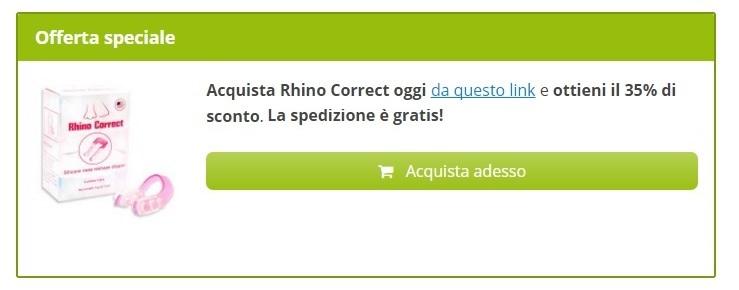 rhino correct prezzo quanto costa