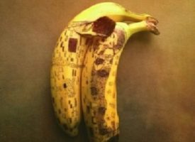 Stephan Brusche, l'artista che crea opere d'arte con le banane