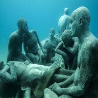 Alle Canarie il primo museo sotto'acqua in Europa