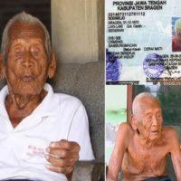 Mbah Gotho l'uomo più vecchio del mondo