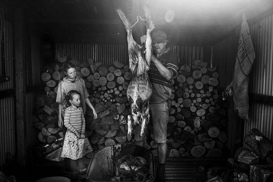 vita rurale famiglia