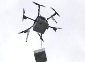 Il primo drone che consegna la pizza a domicilio