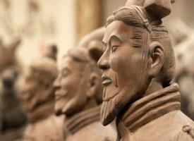 L'esercito cinese di terracotta a grandezza naturale