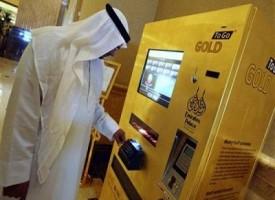 Abu Dhabi, il primo distributore di lingotti d'oro
