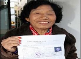 Cha Sa-soon, dopo 960 test riesce a prendere la patente