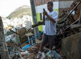 In Brasile favelas con connessioni internet wifi gratuita