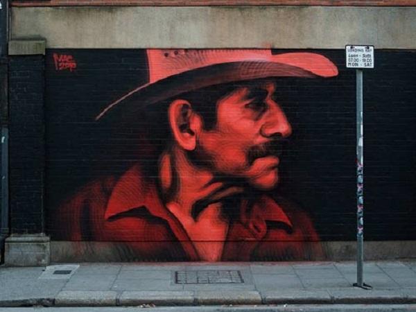 artista dei murales