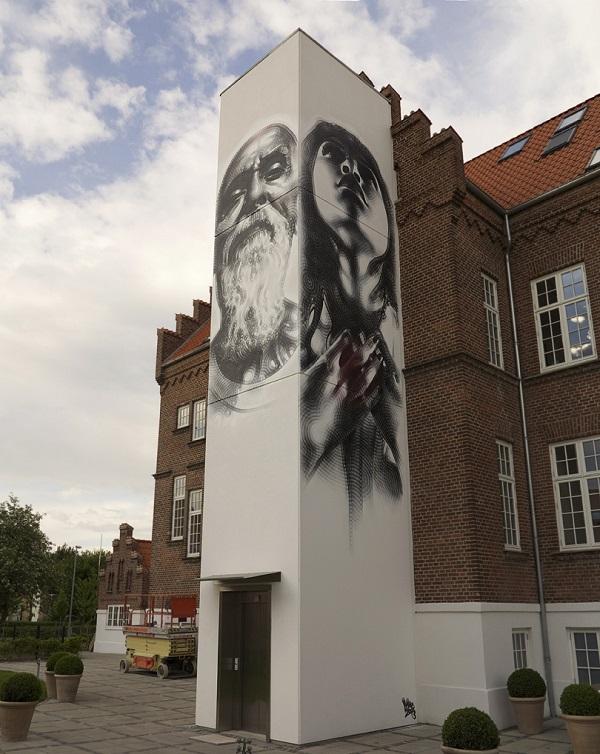 el mac artista di strada