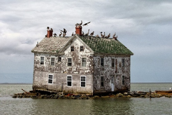 Chesapeake Bay - Maryland - Holland Island