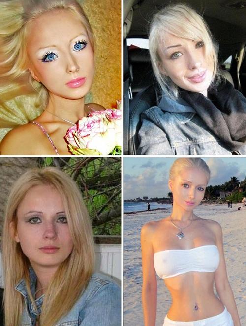valeria lukyanova barbie umana