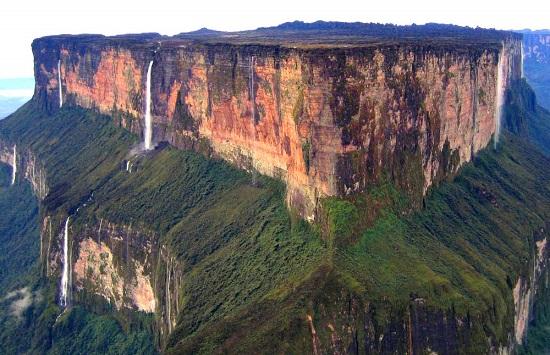 Monte Roraima in Venezuela
