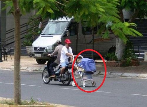 moto passeggino