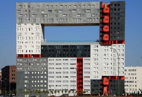 Edificio Mirador Madrid Spagna