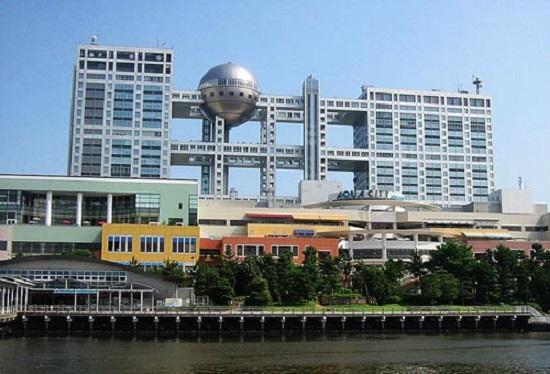 Fuji Television Building Tokyo Giappone