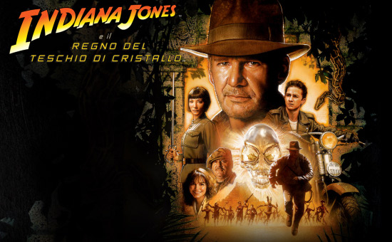 Indiana Jones Regno Teschio Cristallo