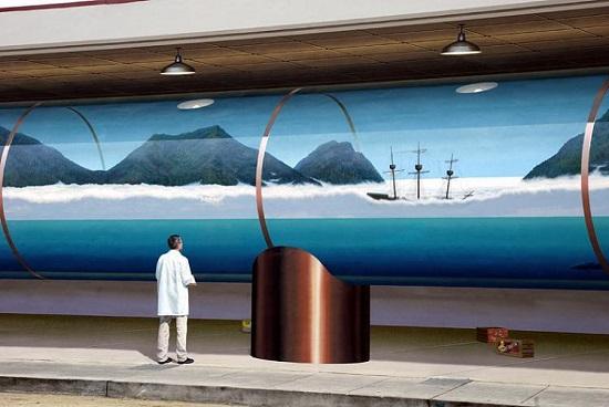 John Pugh murales