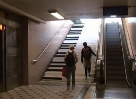 Rimedio alla pigrizia, salire le scale a tempo di musica