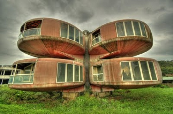 The Ufo House Sanjhih Taiwan