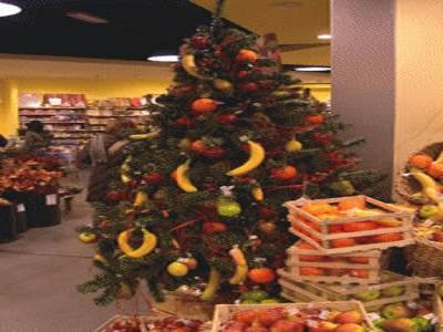 albero natale da mangiare