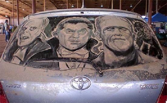disegni su auto