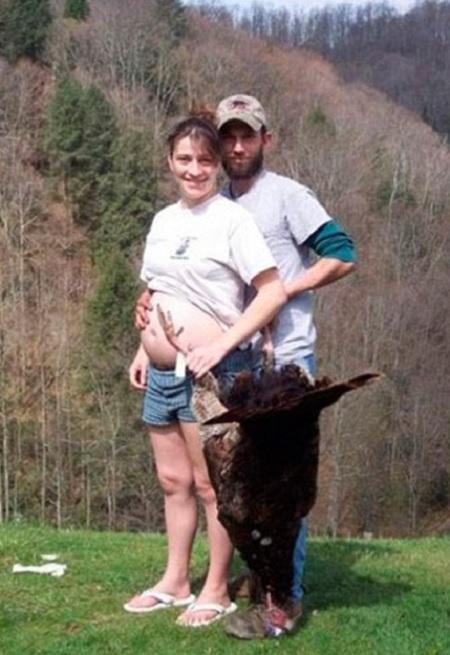 donna stato interessante caccia