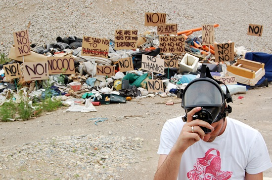 fra.biancoshock una montagna di rifiuti