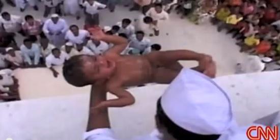 lanciano bambini india